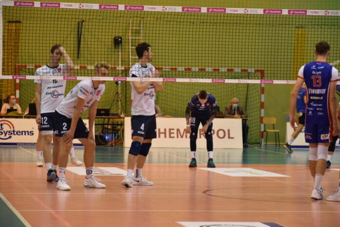 Nie tak miał wyglądać mecz siatkarzy Exact Systems Norwida z Politechniką Lublin 2
