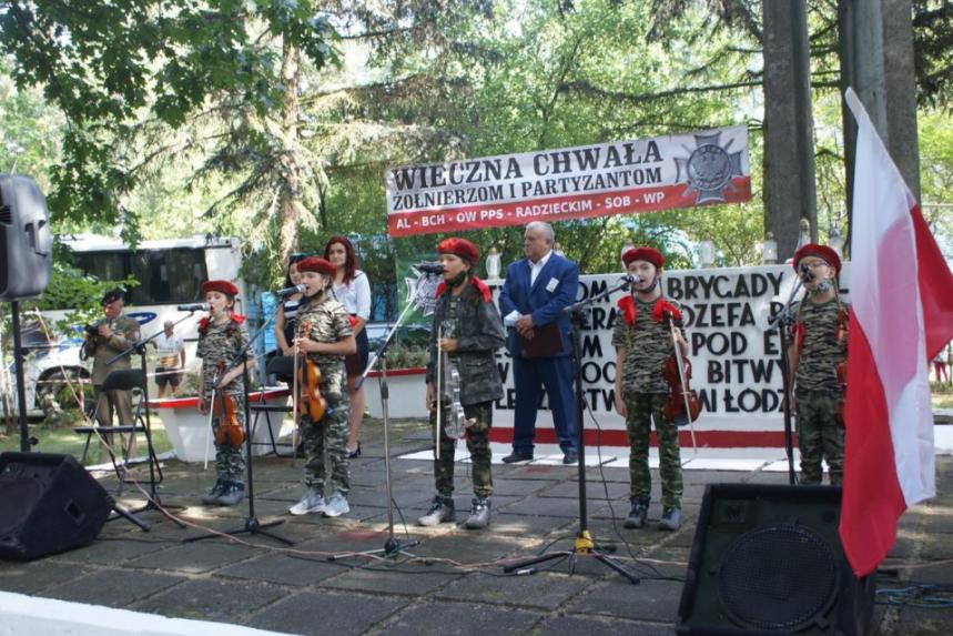 """Uroczystości z okazji 76 rocznicy """"Bitwy pod Ewiną"""" 2"""