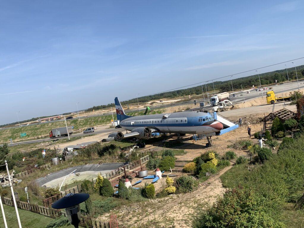 Samolot znika z Kościelca. Restauracja przy DK-1 przestaje działać 1