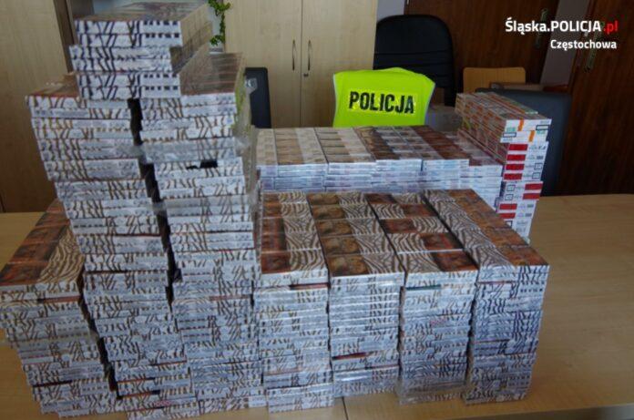 Częstochowska policja ujawniła nielegalne papierosy 2