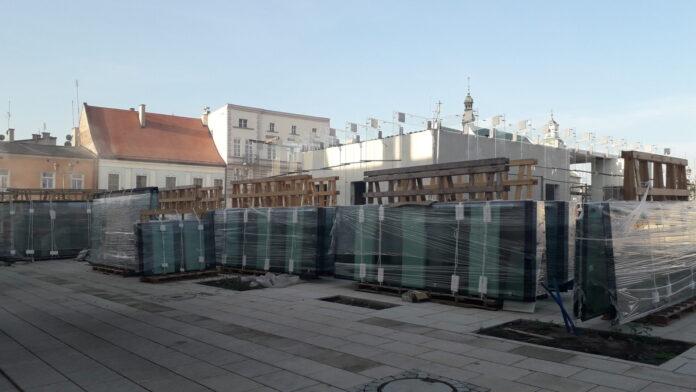 Znowu przesunięto termin zakończenia remontu Starego Rynku w Częstochowie. Winny jest między innymi koronawirus 5