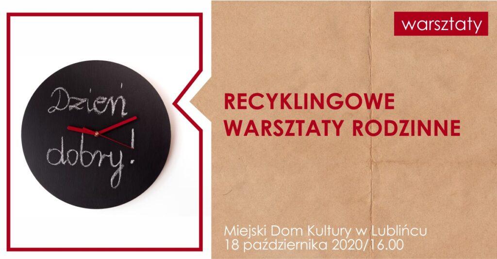 Październikowe kreatywne spotkania w MDK Lubliniec 2