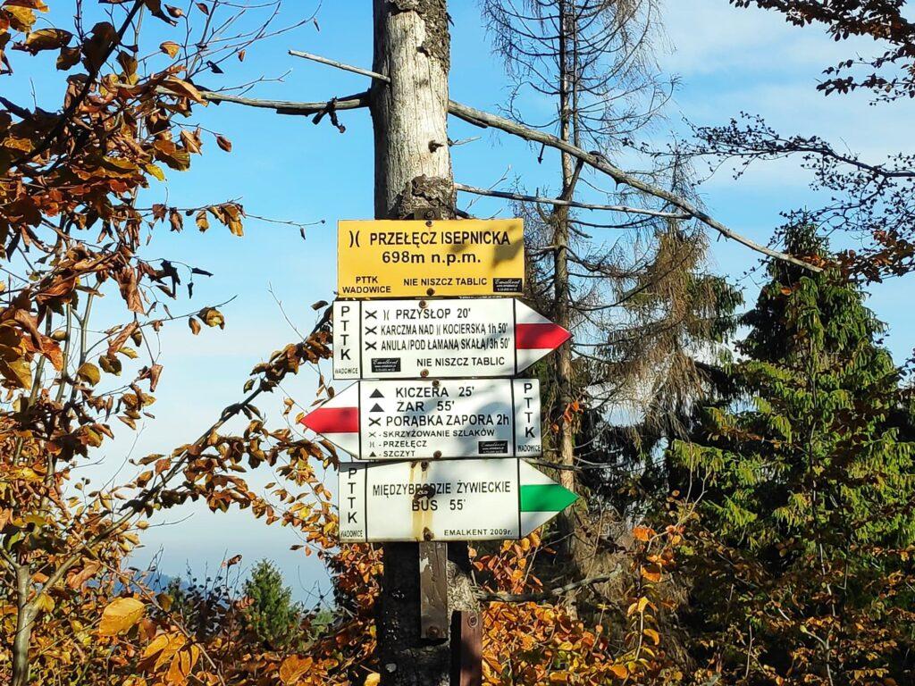 Jesienna Góra Żar , widokowa trasa dla amatorów spacerów 7