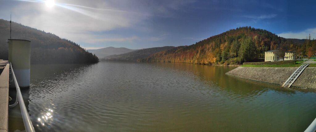 Jesienna Góra Żar , widokowa trasa dla amatorów spacerów 1