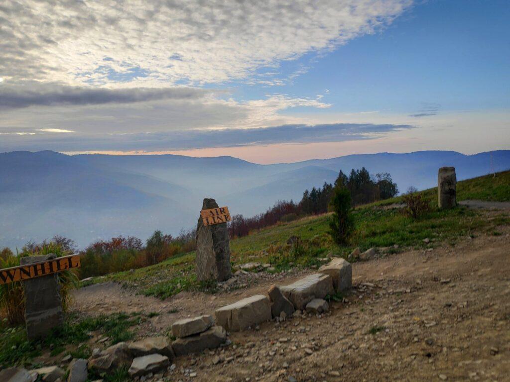 Jesienna Góra Żar , widokowa trasa dla amatorów spacerów 18