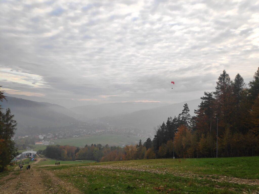 Jesienna Góra Żar , widokowa trasa dla amatorów spacerów 19