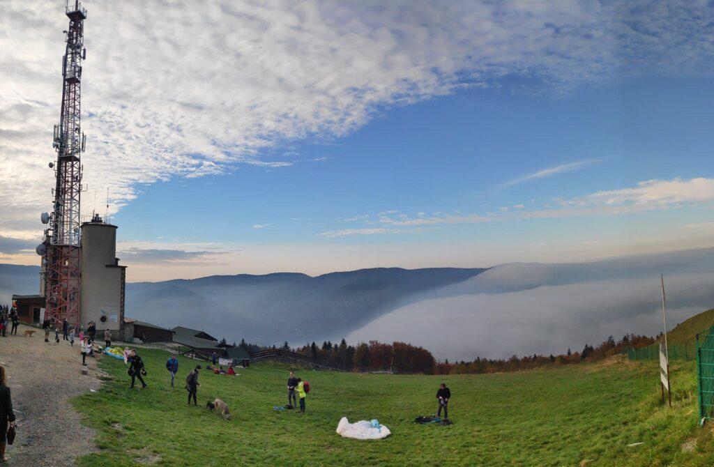 Jesienna Góra Żar , widokowa trasa dla amatorów spacerów 17