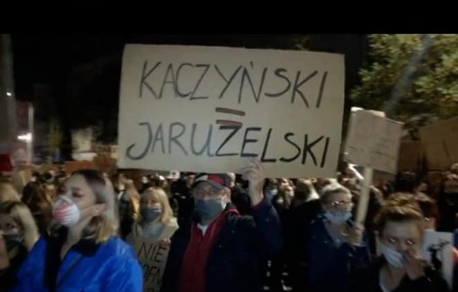 Częstochowianie po raz kolejny protestowali na ulicach miasta 3