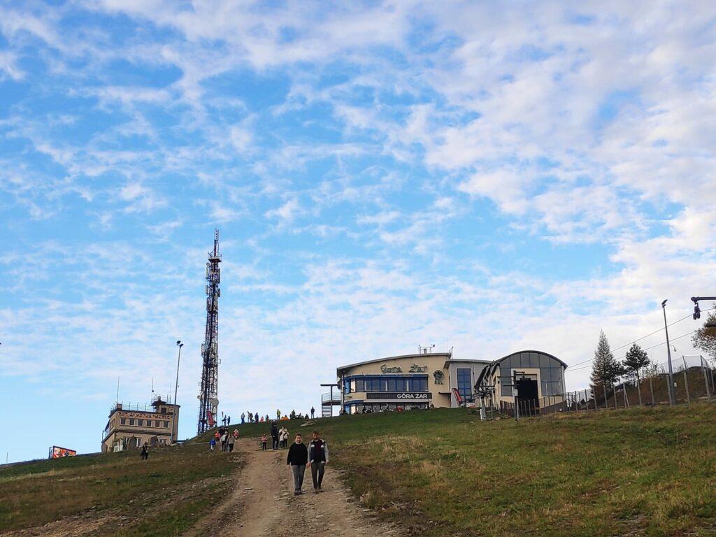 Jesienna Góra Żar , widokowa trasa dla amatorów spacerów 13