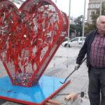 Serce zabrane z placu Biegańskiego. W Częstochowie nie znalazło się dla niego inne miejsce 5