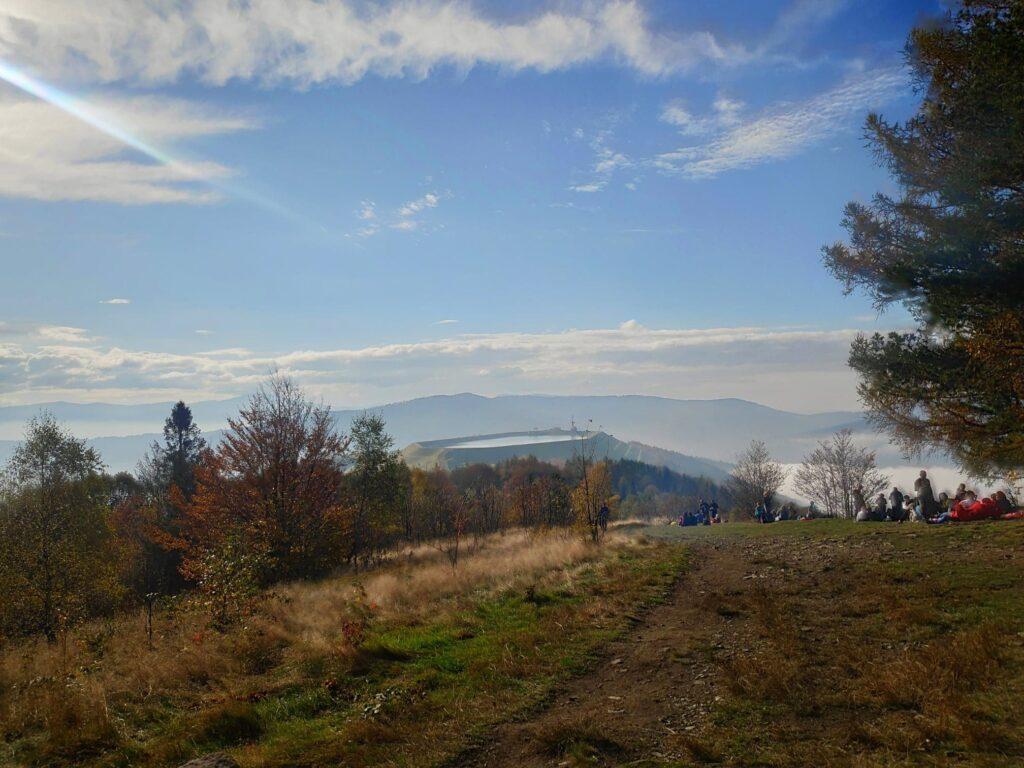 Jesienna Góra Żar , widokowa trasa dla amatorów spacerów 10