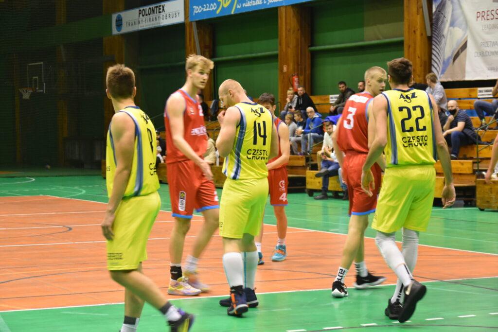 Pewna wygrana koszykarzy AZS Częstochowa z GTK Gliwice 7