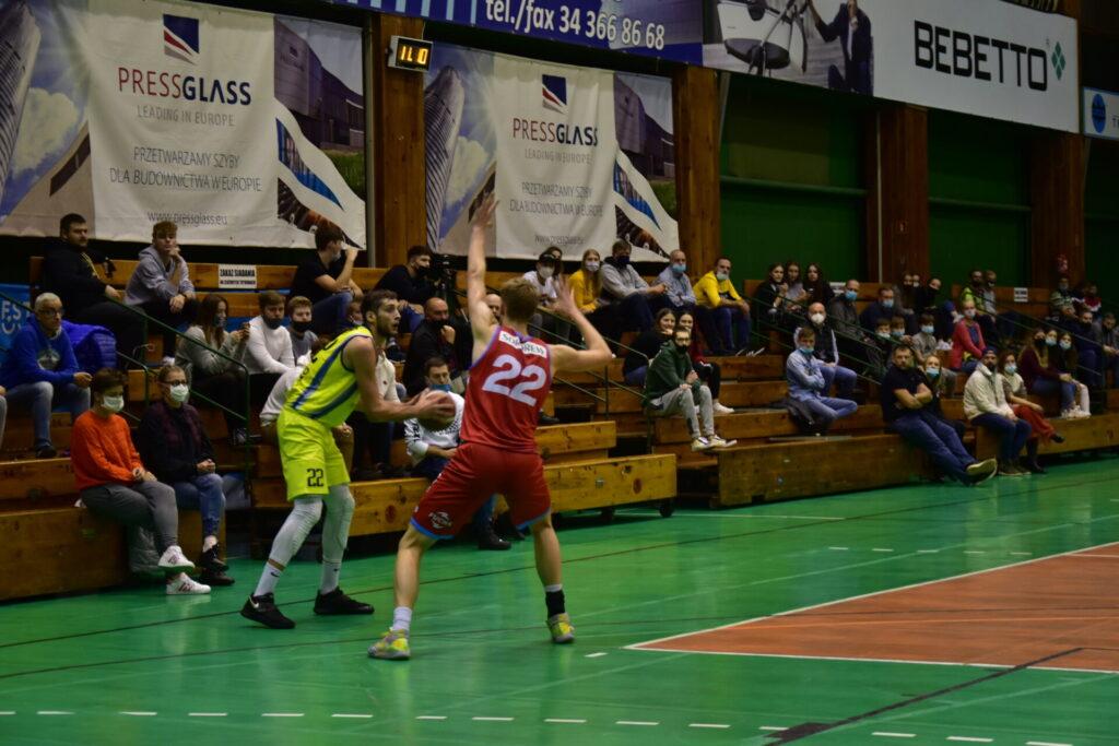 Pewna wygrana koszykarzy AZS Częstochowa z GTK Gliwice 3