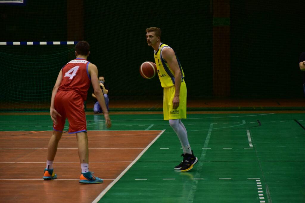 Pewna wygrana koszykarzy AZS Częstochowa z GTK Gliwice 4