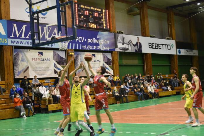 Pewna wygrana koszykarzy AZS Częstochowa z GTK Gliwice 10