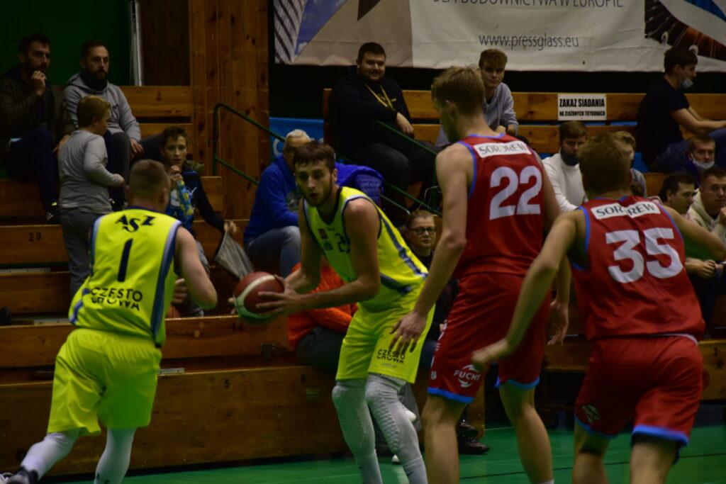 Pewna wygrana koszykarzy AZS Częstochowa z GTK Gliwice 2