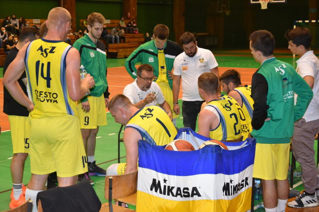 Pewna wygrana koszykarzy AZS Częstochowa z GTK Gliwice 6