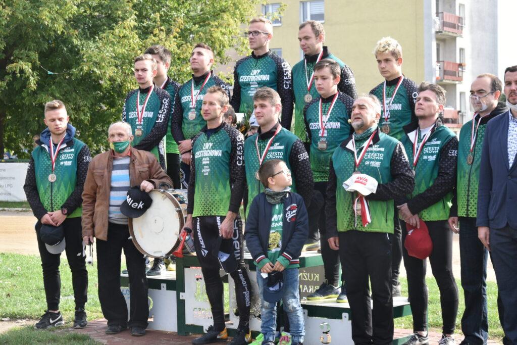 Lwy Avia Częstochowa zdobyły brązowy medal w speedrowerowej Superlidze i Drużynowych Mistrzostwach Polski!!! 2