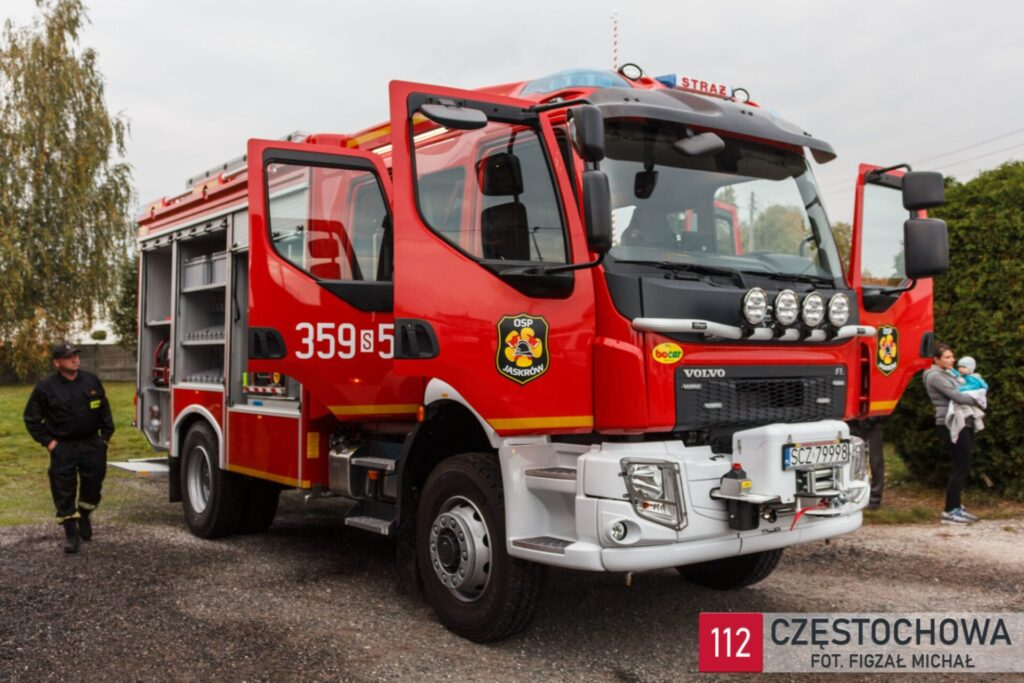 Strażacy z Jaskrowa otrzymali nowy samochód ratowniczo-gaśniczy 1