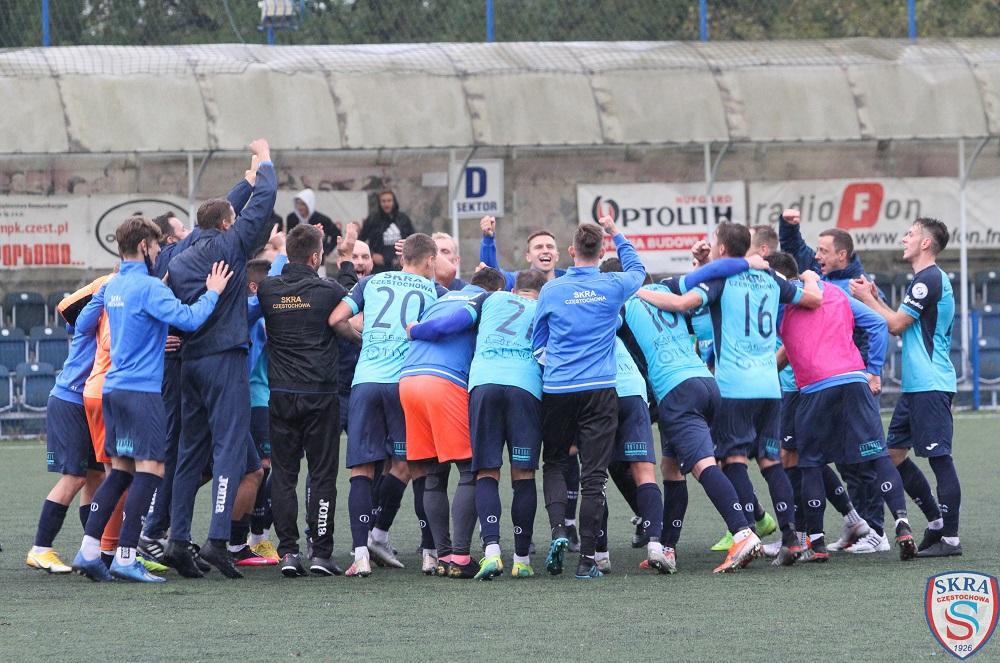 Skra Częstochowa wygrała półfinał w Chojnicach i zagra w sobotę w finale barażu o awans do 1 ligi 1