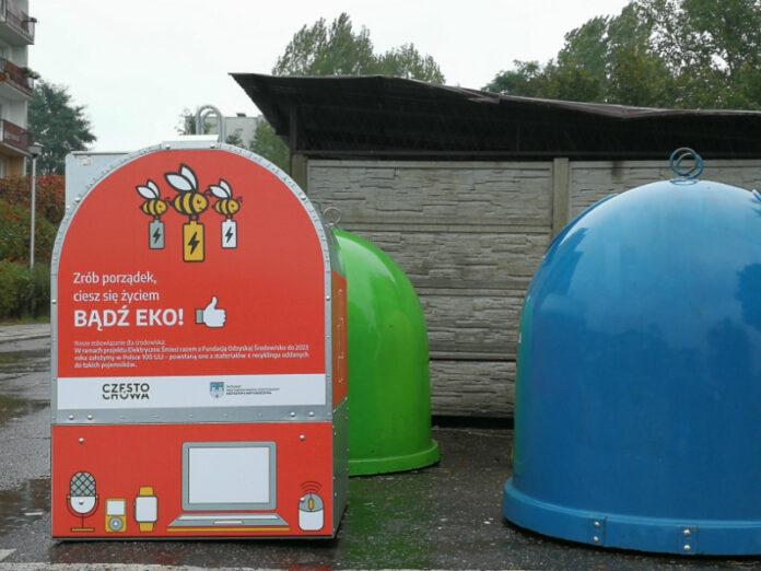 Częstochowskie pojemniki na elektroodpady zdają egzamin 2
