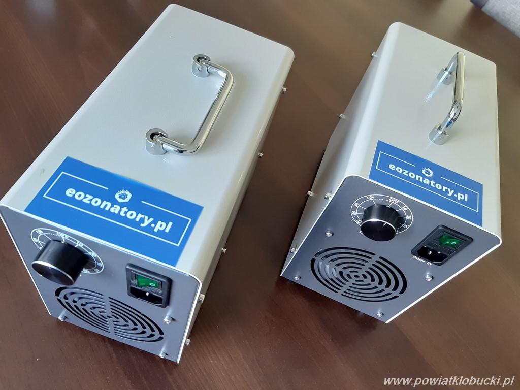 Szkoły średnie w powiecie kłobuckim otrzymały generatory ozonu 1