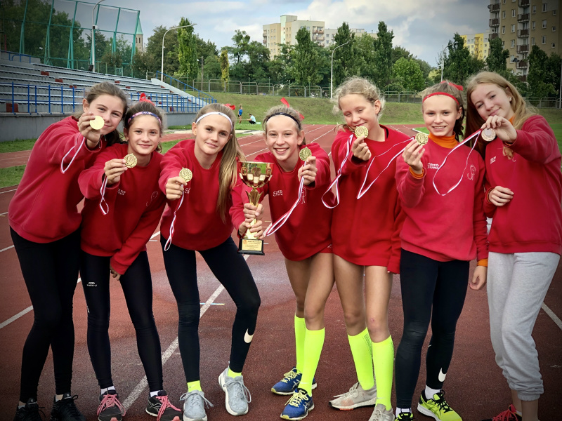 Częstochowianki zdobyły Mistrzostwa Śląska w czwórboju lekkoatletycznym 1