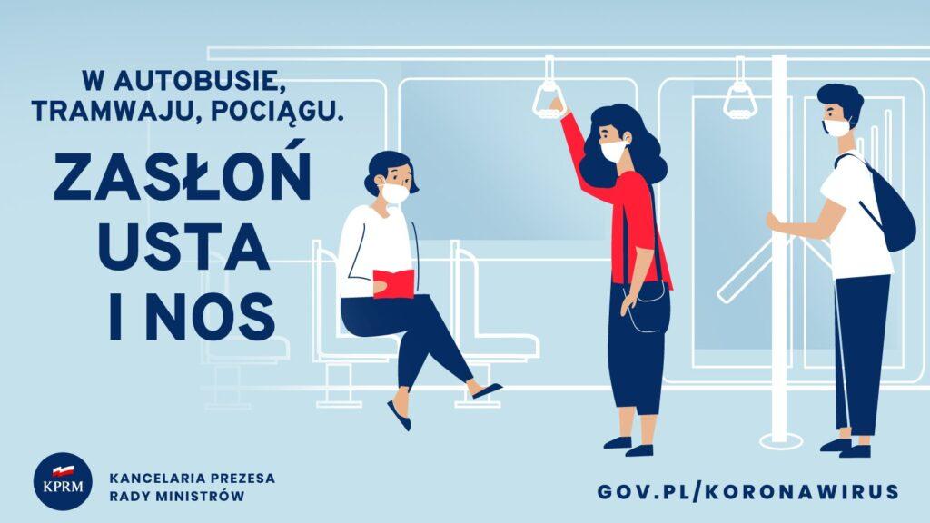 Od soboty cała Polska jest strefą żółtą. W walce z koronowirusem ma pomóc obowiązek noszenia maseczek w całej przestrzeni publicznej 3