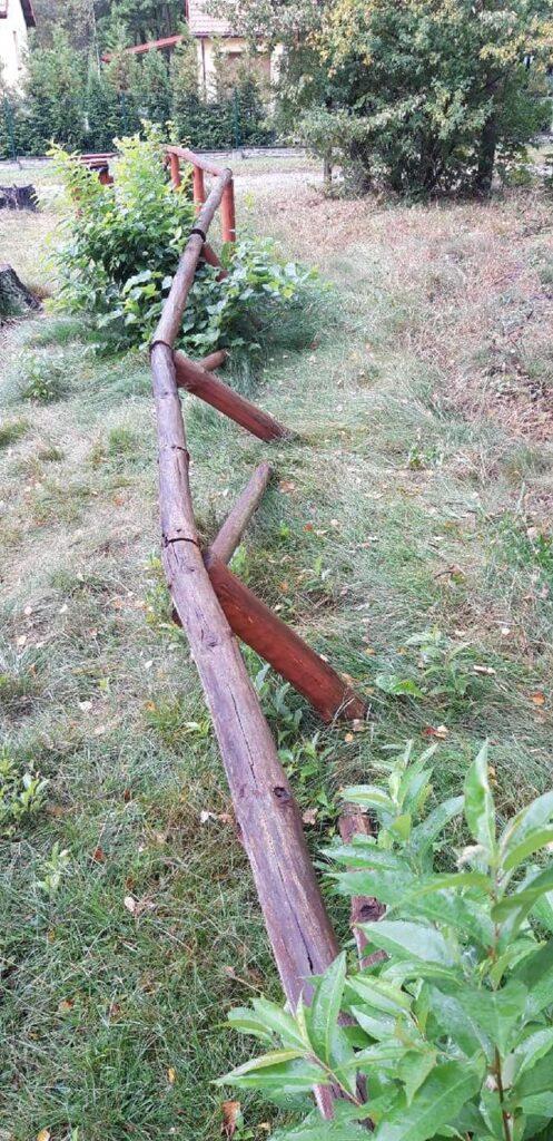 Nadleśnictwa Złoty Potok i Żarki poszukują sprawców zniszczeń 2