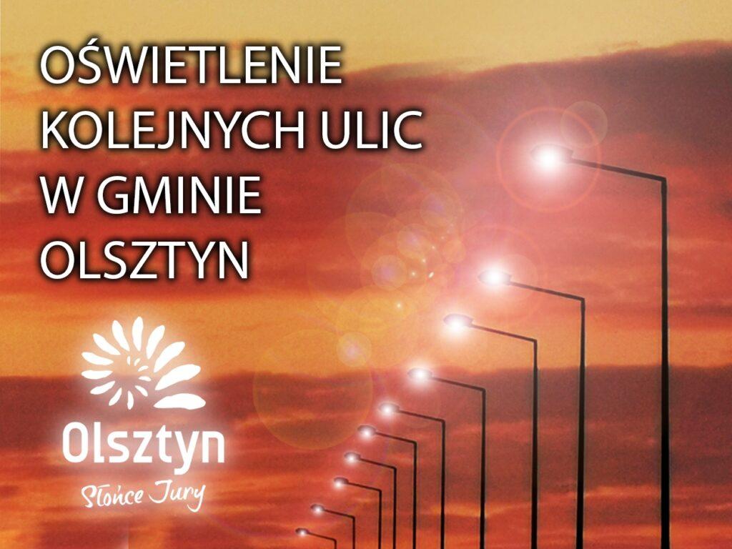 W Olsztynie i Turowie powstanie nowe oświetlenie ulic 1