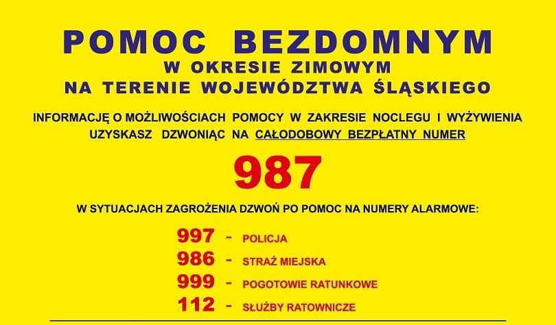 W Województwie Śląskim rusza bezpłatna infolinia dla osób bezdomnych 2