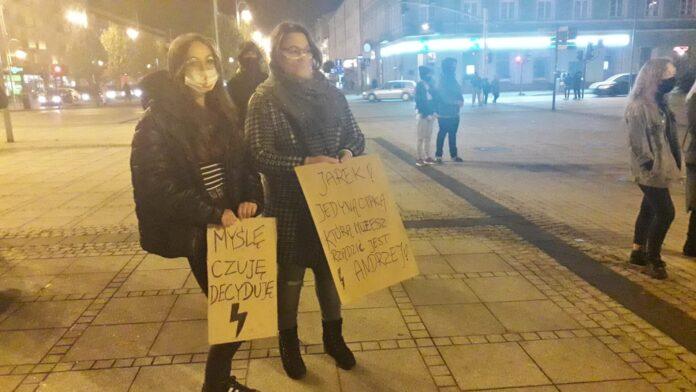 Trzeci dzień protestów w Częstochowie 17