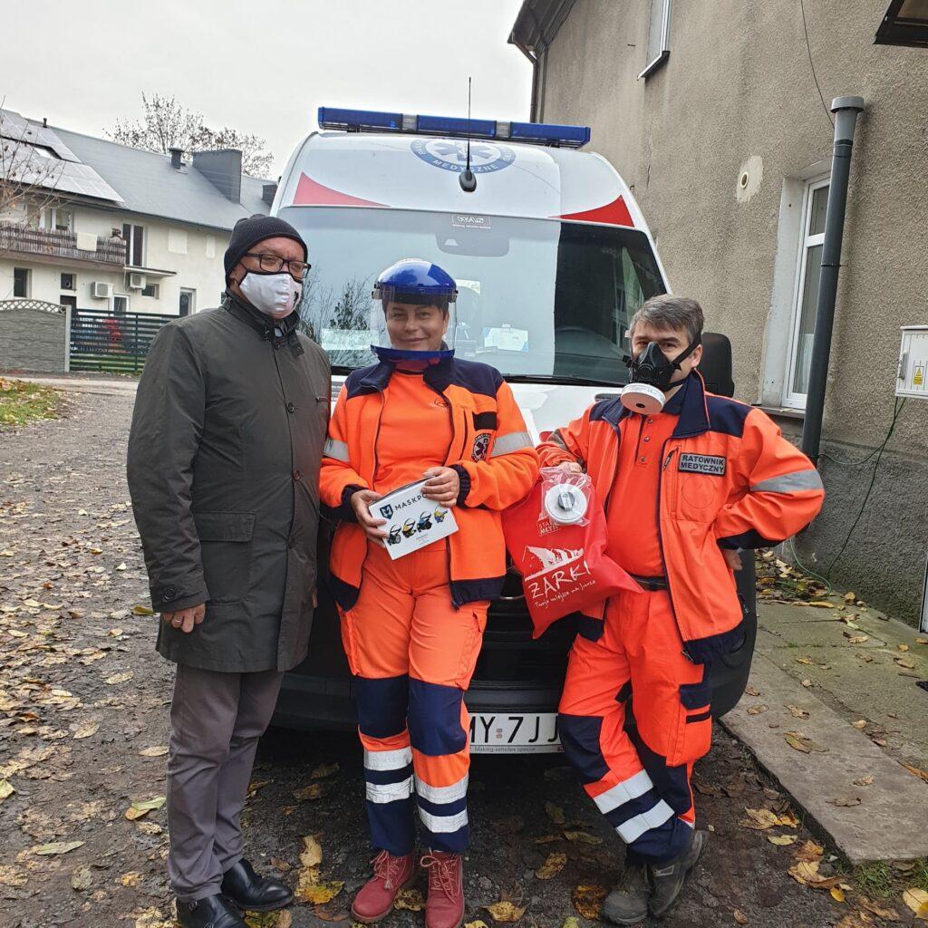 Samorząd Żarek ponownie pomaga pogotowiu ratunkowemu 1