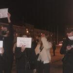 Częstochowa czwarty dzień mówi NIE orzeczeniu Trybunału Konstytucyjnego. Centrum  zablokowane przez przeciwników zaostrzenia ustawy aborcyjnej. Pod szczytem jasnogórskim policja użyła gazu 6