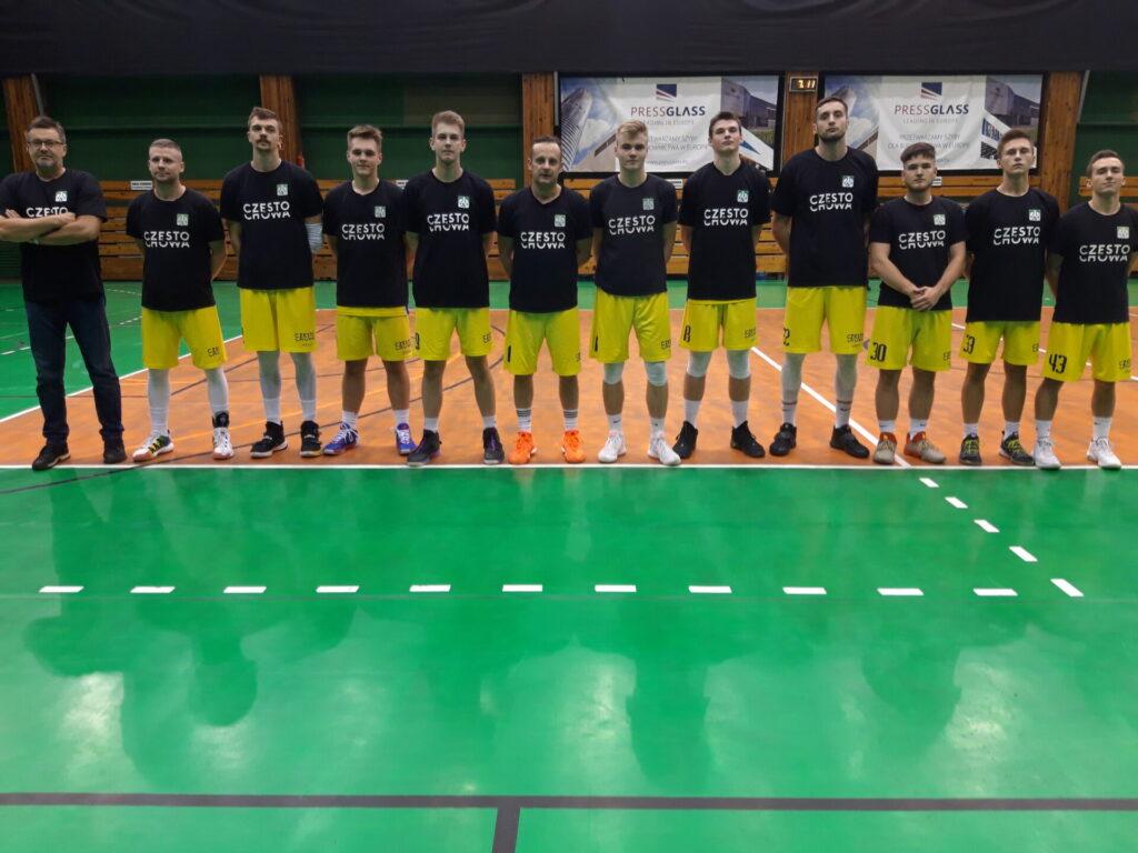 Pierwszy oficjalny mecz w nowym 2021 roku w Częstochowie rozegrają 2 stycznia koszykarze AZS Politechniki 1
