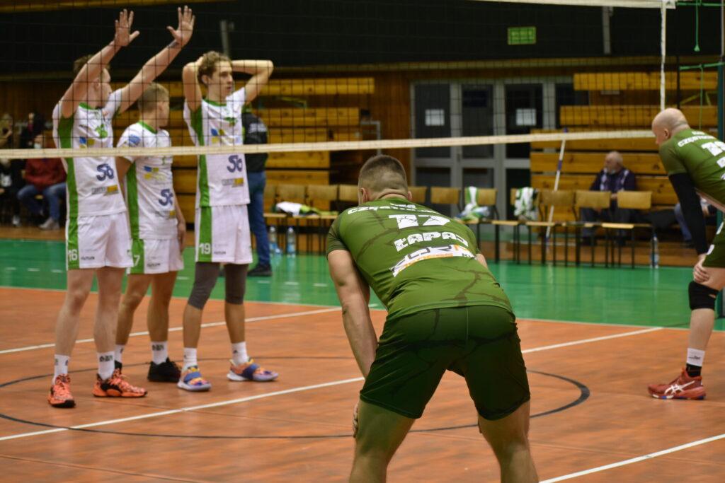 W Hali Polonia rozegrane zostały siatkarskie derby... częstochowskich AZS-ów. Forma AZS lepsza od Eco-Team AZS Stoelzle II 2