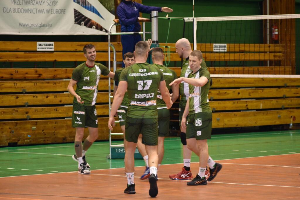W Hali Polonia rozegrane zostały siatkarskie derby... częstochowskich AZS-ów. Forma AZS lepsza od Eco-Team AZS Stoelzle II 1
