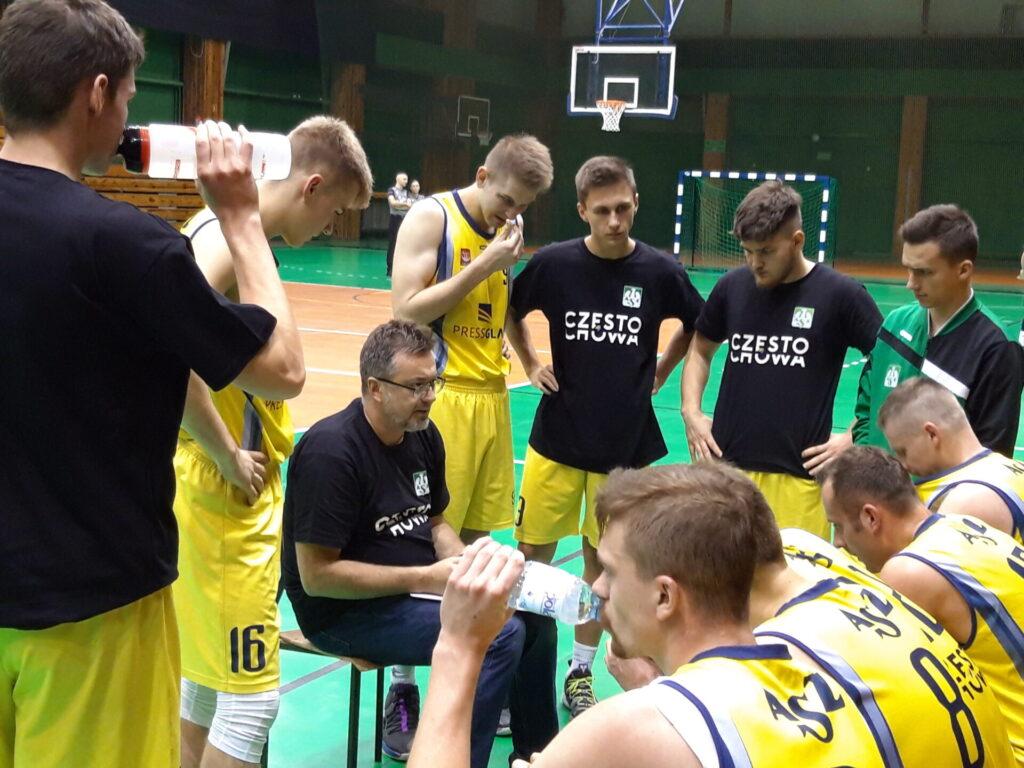 Koszykarze AZS Politechniki w sobotę walczyli o punkty w Krakowie 1