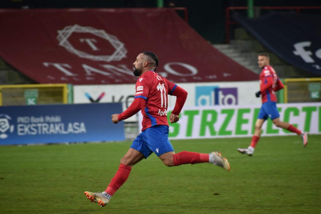 Wygrana Rakowa z Wartą Poznań. Decydujący gol dopiero w 90. minucie! 1