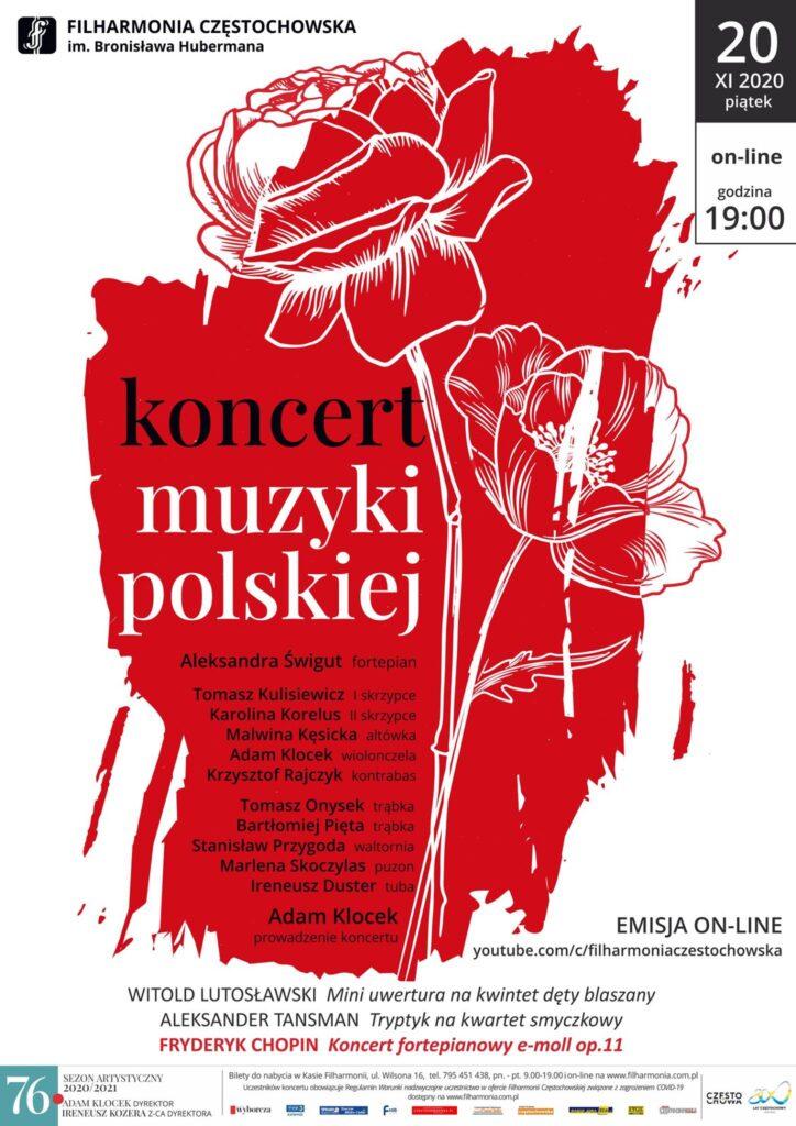 Filharmonia Częstochowska przenosi swoją działalność do internetu 1