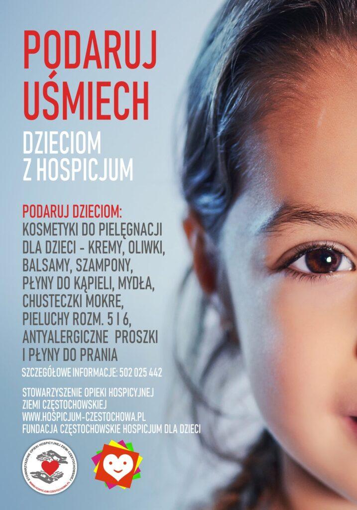 """Zbiórka """"Podaruj uśmiech dzieciom z hospicjum"""" w Częstochowie 1"""