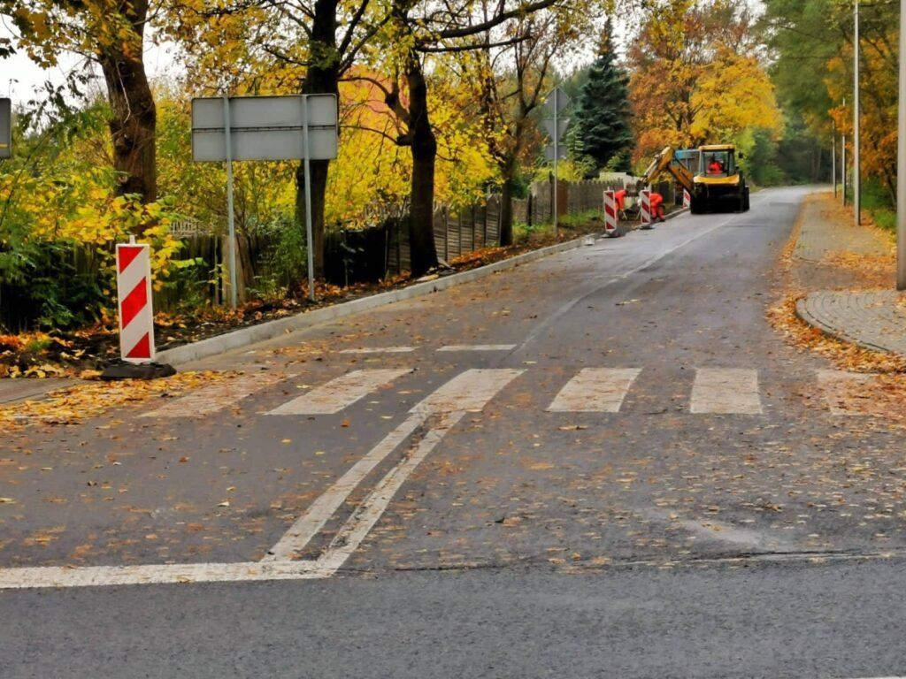 Na drogach lokalnych Gminy Olsztyn rozpoczęły się roboty budowlane 1