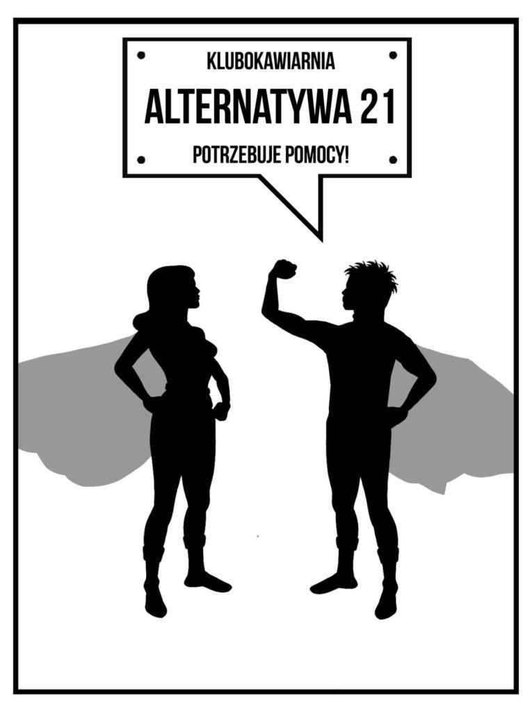 Pomóż częstochowskiej Klubokawiarni Alternatywa 21 przetrwać  pandemię, zamawiaj pyszne dania 1