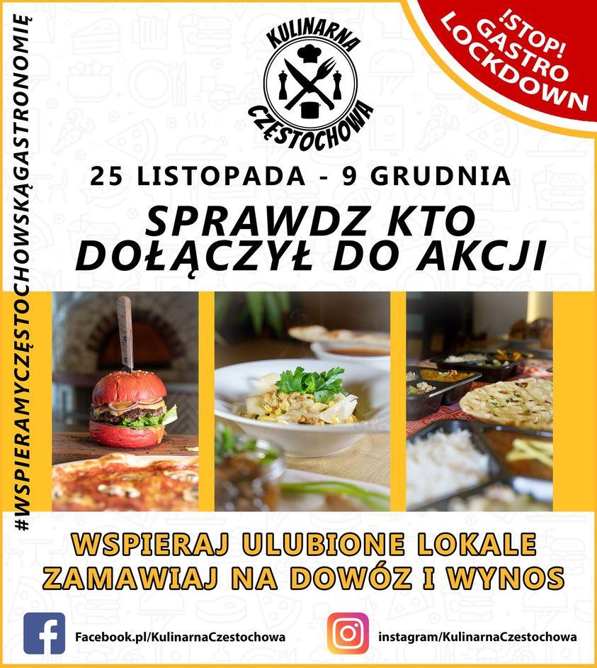 Dzisiaj rusza akcja pod hasłem Kulinarna Częstochowa - Pobudzamy Częstochowską Gastronomię 1