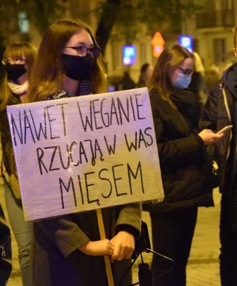 Częstochowa nie przestaje protestować w sprawie orzeczenia Trybunału Konstytucyjnego 11