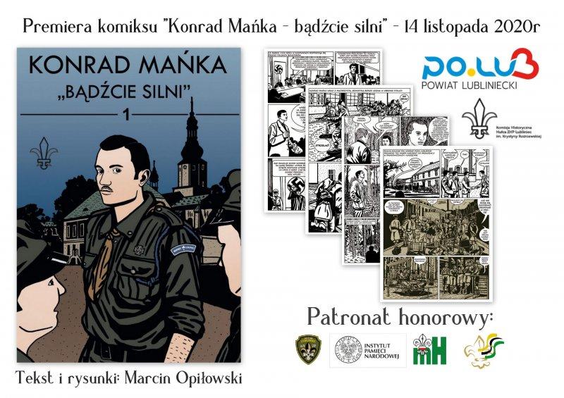 W Lublińcu uczczą pamięć Konrada Mańki 1
