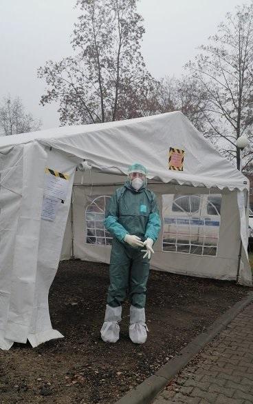 W Szpitalu Powiatowym w Lublińcu pomagają wolontariusze 1