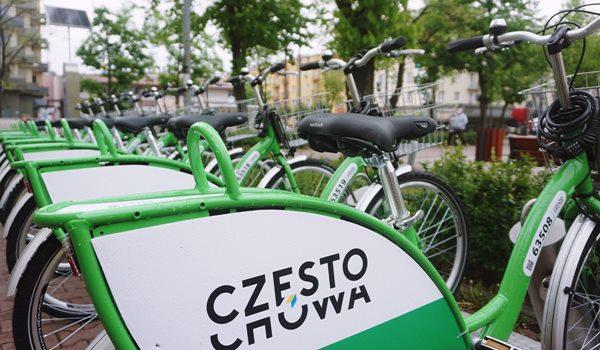 Częstochowski rower miejski najwcześniej w maju 2