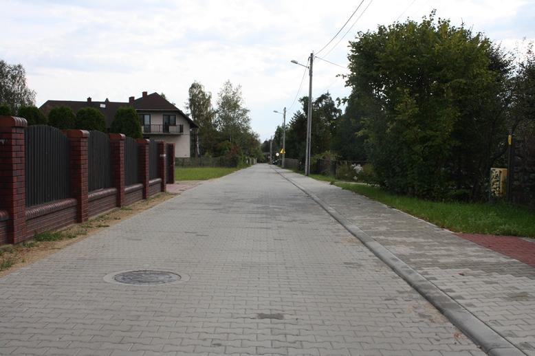 W Myszkowie zakończyła się budowa dróg  na ulicy Klonowej i Sadowej 2
