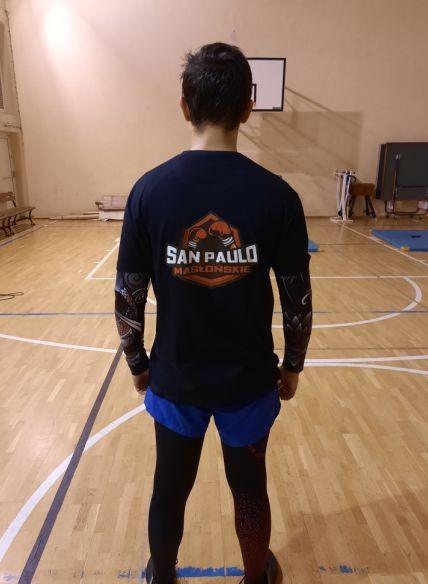 """Klub bokserski """"San Paulo"""" w nowych koszulkach od radnego 1"""